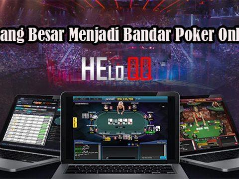Menang Besar Menjadi Bandar Poker Online